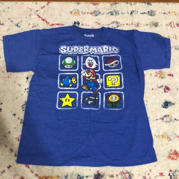 Blue Mario Roblox Old Navy Shirts Tops Lot Of 5 Boys Shirts Mario Star Wars Roblox Poshmark